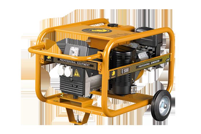 generador e5000 benza - Tallers JPorcel