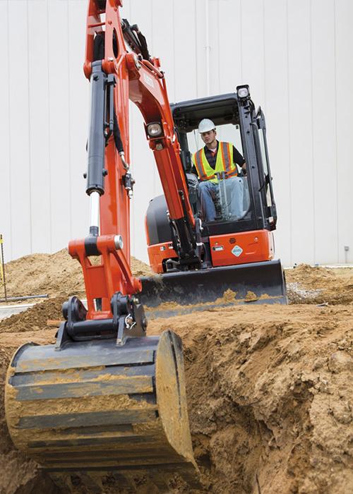 venda maquinaria construcció - kubota