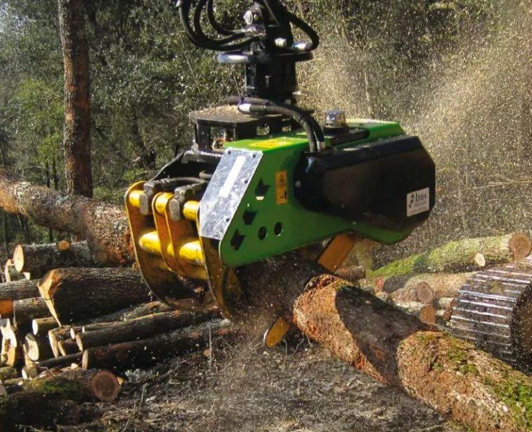 venda implements maquinària forestal Tallers JPorcel